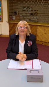 Club Secretary and Welfare Officer Carol Lesley Richards